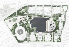 german practice gmp architekten have completed the 'grand theater' situated within the culture park of tianjin in china.