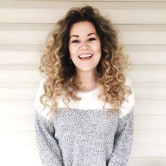 Blond Hair   Curly Hair   Natural Curls   Balayage   Long Curly Hair