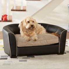 Have to have it. Enchanted Home Pet Remy Bed - Black - $127.63 @hayneedle