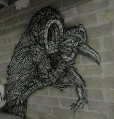 MONKEYBIRD. Mondes souterrains Nuit blanche 2016
