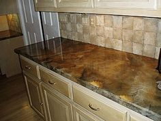 TIPS * SOLUTIONS on Pinterest | Faux Granite Countertops ...