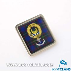 Durie Crest Pin Badg