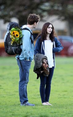 love rosie lily collins   Lily Collins and Sam Claflin   GossipCenter - Entertainment News ...