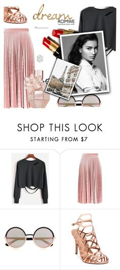 """""""1164"""" by melanie-avni ❤ liked on Polyvore featuring Topshop, Marc by Marc Jacobs, Madden Girl and Christian Louboutin"""