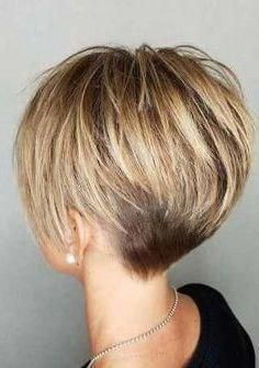 Hair Beauty - 99 Beautiful Women Short Hairstyles Ideas For Fine Hair To Try Girls Natural Hairstyles, Short Hairstyles For Thick Hair, Short Brown Hair, Short Hair With Layers, Short Blonde, Short Hair Cuts, Short Hair Styles, Curly Short, Hairstyle Short