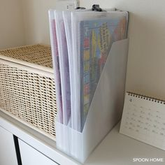 子供用パズルの収納アイデア・保管方法とのブログ画像 Storage Organization, Organizing, Clean Up, Magazine Rack, Mattress, Muji, Kids Room, Home Appliances, Cabinet