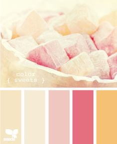 Color sweets .