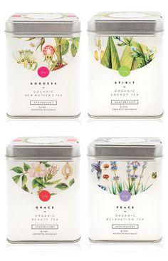 Knockout Botanical Packaging Designs For Organic Farms Tee Design, Design Poster, Label Design, Package Design, Brand Design, Coffee Packaging, Pretty Packaging, Brand Packaging, Design Packaging