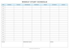 i finally found a good study timetable template lol Revision Timetable Template, Study Schedule Template, School Timetable, Schedule Printable, Checklist Template, Exam Revision, Printables, Student Planner Printable, Weekly Planner Template