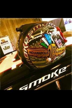 Tony Stewart Indianapolis NASCAR helmet!