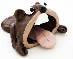 pinch pot beaver