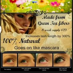 Hey guys, what are you waiting for?? Order your 3D fiberlash #mascara now. You will not regret it. I have received text messages from everyone that bought the mascara saying how amazing this mascara is and how much they love it. Be a believer!! www.youniquebygladdis.com