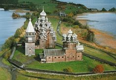 Stunning examples of Russia's 18th-century wooden architecture