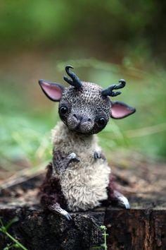 Fantasy | Whimsical | Strange | Mythical | Creative | Creatures | Dolls | Sculptures | ☥ | by da-bu-di-bu-da on deviantart.com