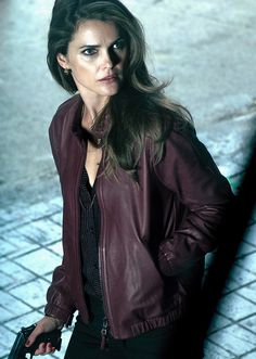 http://www.fanjackets.com/products/The-Americans-Keri-Russell-Jacket.html  The Americans Keri Russell Jacket for Womens, also Available Elizabeth Jennings Leather Jacket in Discounted Price.