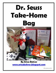 Dr. Seuss Take-Home Bag - Pinned by @PediaStaff – Please visit http://ht.ly/63sNt for all (hundreds of) our pediatric therapy pins