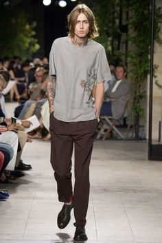 good combination ; badboy x Hermes Hermès Spring 2016 Menswear - Collection - Gallery - Style.com