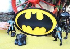 Cuadro BATMAN - Pio Bio Deco * Taller Creativo *