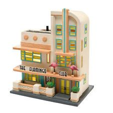 THE FLAMINGO CLUB Snow Village Dept 56 NEW Christmas In The City NEW IN BOX
