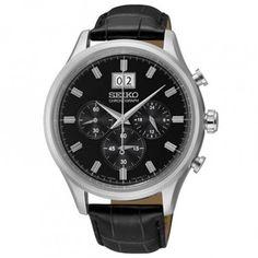 SEIKO Montre classique chronographe SPC083P1