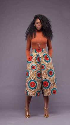 cool Tendance – Si chic en pantacourt pagne by http://www.redfashiontrends.us/african-fashion/tendance-si-chic-en-pantacourt-pagne/