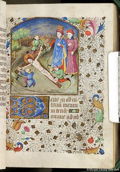 Book of Hours, MS M.84 fol. 58r - Images from Medieval and Renaissance Manuscripts - The Morgan Library & Museum