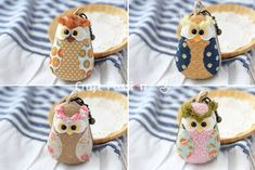 Free pattern and tutorial on how to sew a Owl Macaron Coin Purse. Keep a small change in it or use as small jewelry storage. Perfect gift to sew. - Page 2 of 2