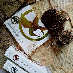 The hunger games triology foil collector's edition! #ohthebookfeels