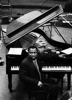 "Thelonious Monk - was an American jazz pianist & composer. He said, ""The piano ain't got no wrong notes. Piano Jazz, Le Piano, Piano Guys, Jazz Artists, Jazz Musicians, Music Artists, Good Music, My Music, Music Stuff"