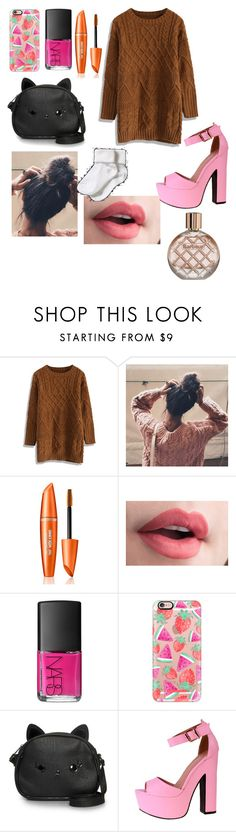 """""""Untitled #190"""" by noags ❤ liked on Polyvore featuring beauty, Chicwish, NARS Cosmetics, Casetify, Loungefly and Barbour"""