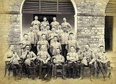 1891 India - Scottish Rifles Cameronians - Pith Helmets | Flickr - Photo Sharing!