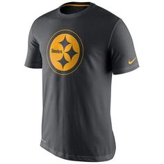 Nike Men's Pittsburgh Steelers Travel Dri-fit T-Shirt Nfl Steelers, Pittsburgh Steelers, Cincinnati Bengals, Nike Nfl, Nike Soccer, Kayaks For Sale, Lou Williams, Kayaking Tips, Dri Fit T Shirts