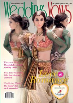 Women's day OFFER!!! One year subscription at 40% discount. Valid till 8th March 2013.  Wedding Vows  Magazine - Buy, Subscribe, Download and Read Wedding Vows on your iPad, iPhone, iPod Touch, Android and on the web only through Magzter
