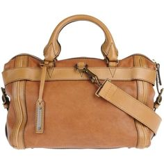 BURBERRY Large leather bag
