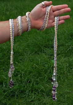 Custom Handfasting cord in silky ivory braid with by BindingTies. £85.00 GBP, via Etsy.