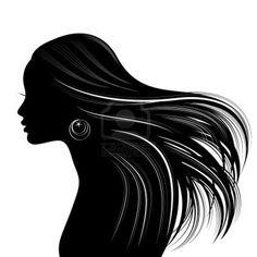 Woman Silhouette Profile Face Woman face profile silhouette