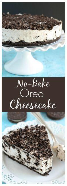 An easy No-Bake Oreo