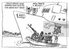 somali piracy cartoon - Google zoeken Somali, Cartoons, Playing Cards, Humor, Google, Cartoon, Cartoon Movies, Playing Card Games, Humour