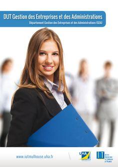 """DUT """"Gestion des Entreprises et des Administrations"""" (GEA) --> accédez à un diplôme de niveau bac+2"""