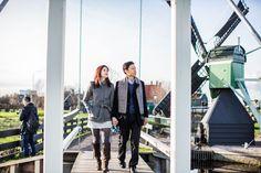 Pre-wedding photographer in Amsterdam, Holland, the Netherlands, Windmills at Zaanse Schans, Dutch