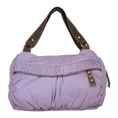 Women's Latico Puffer Satchel 8101 Lavender Leather - 16093269 ...Have this bag and love it