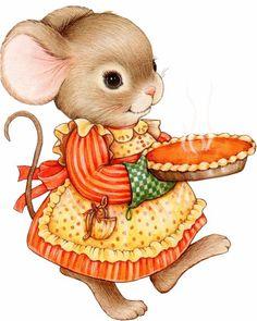 мышка-хозяюшка - Схемы вышивки - pepi_irina - Авторы - Портал «Вышивка крестом»
