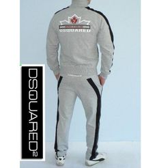 New 2012 Dsquared Mens Tracksuit      Fabric: Cotton and Elastan      High quality double reinforced seam!!!    Brand new with tags!
