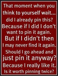 Pinterest has fixed this now but I still always think it... #quotes
