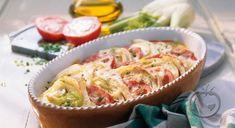 Carbonara i form Gouda, Pasta, Eat Smarter, Quiche, Potato Salad, Sushi, Potatoes, Stuffed Peppers, Breakfast