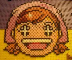 Custom Cooking Mama Perler Bead Sprite by GamerGrrlz, via Flickr
