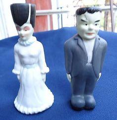Vintage-Salt-And-Pepper-Shakers-Frankenstein-And-His-Bride
