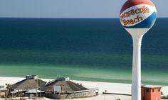 Pensacola Beach Florida - Beach Ball Sign   Hilton Mom Voyage