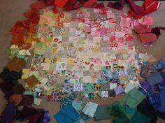 squiltz: Colourwash Scrap Quilt
