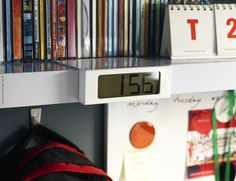VIKIS Alarm clock IKEA The alarm clock has a snooze function and the alarm signal is repeated every five minutes.